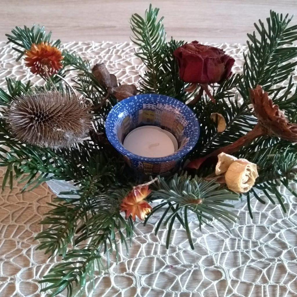 Ein Lichtlein zum ersten Advent